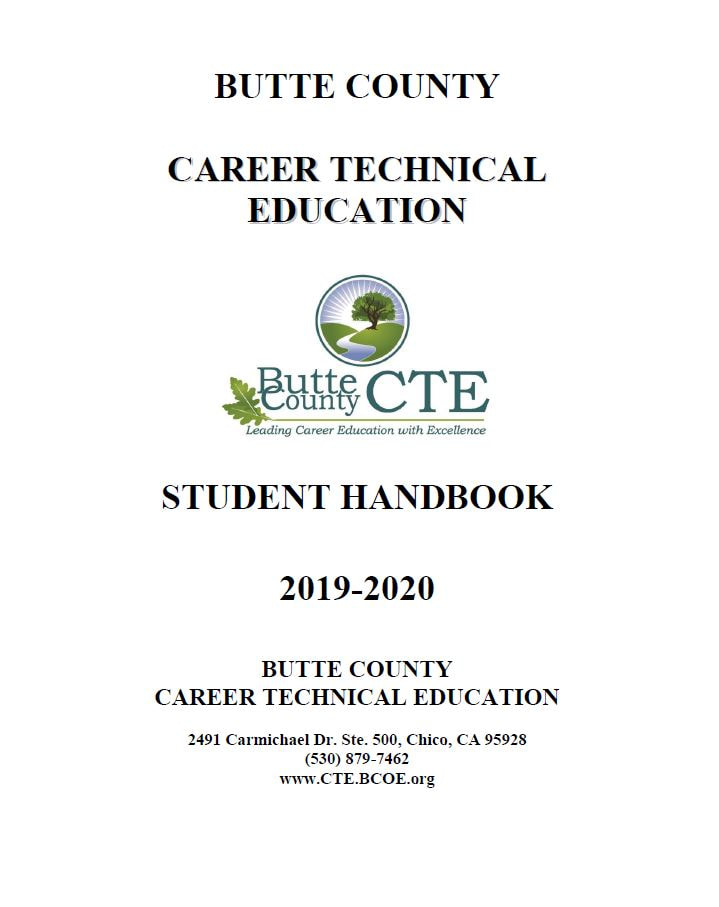 Image of front cover of Student Handbook
