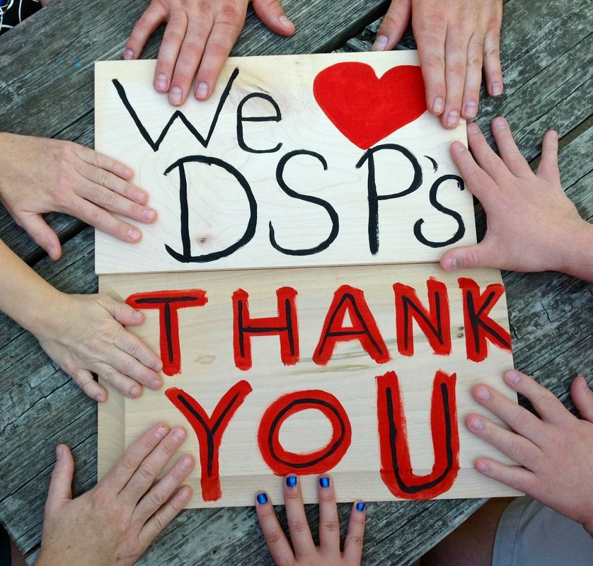 Signs: We Love DSPs, Thanks You